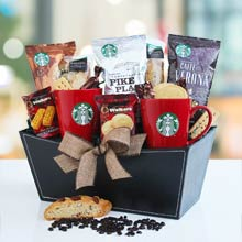 Starbucks Coffee Assortment Basket