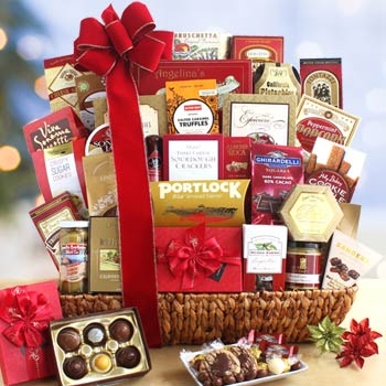 Deluxe Corporate Holiday Basket