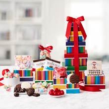 Birthday Snack Gift Tower