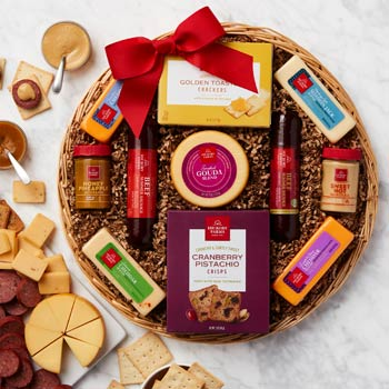 Hickory Farms Holiday Gift Basket