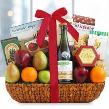 Fruit & Cider Gift Basket