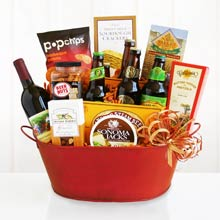 All Occasion Beer and Wine Basket