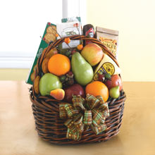 Elegant Fruit Gift Basket