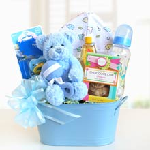Newborn Gift Basket for Him