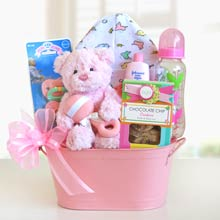 Newborn Gift Basket for Her