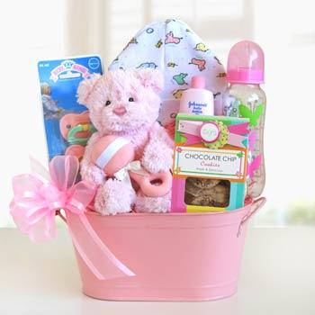 Newborn Gift Basket for Her