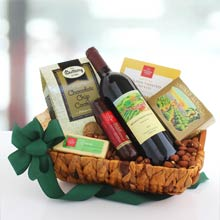 Appreciation Wine Gift Basket