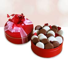 Valentines Day Cookie Gift Tin