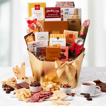 Business Gourmet Gift Basket