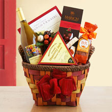 Harvest Wine Basket