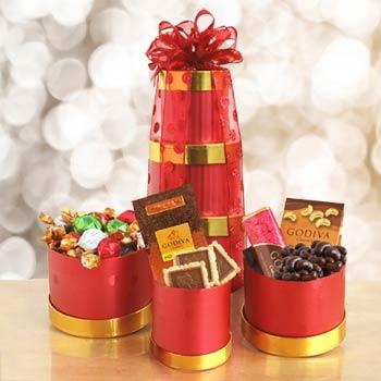 Godiva® Chocolate Holiday Gift Tower