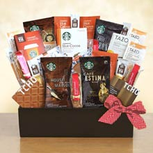 Starbucks® Coffee Connoisseur Basket