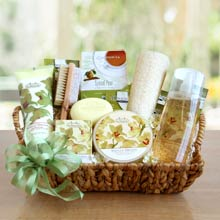 Vanilla Orchid Spa Gift Basket
