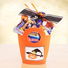 Halloween Candy Gift Tote