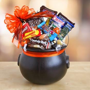 Spooky Halloween Cauldron