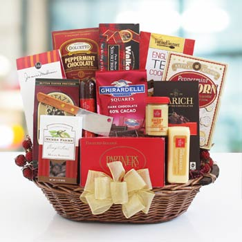 Corporate Thank You Gift Basket