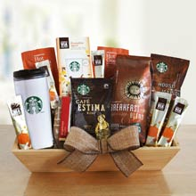 Starbucks® Harvest Coffee Basket