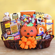 Office Halloween Gift Basket