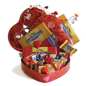 Ghirardelli Valentine's Day Gift Tin
