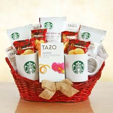 Starbucks Romantic Treat Gift Basket
