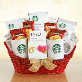 Starbucks Romantic Treat Gift Basket