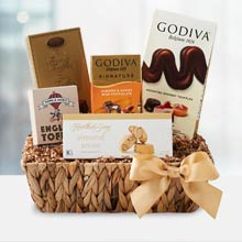 Christmas Chocolate Basket