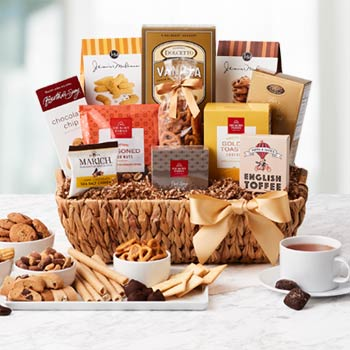Regal Thank You Gift Basket