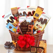 Godiva® Chocolate Holiday Basket