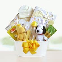 Peanuts Baby Gift Basket