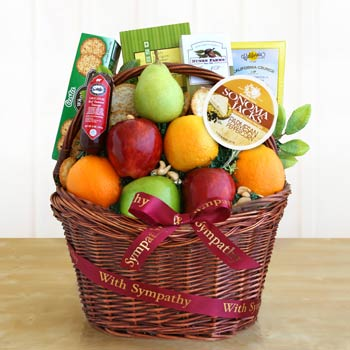 Sympathy Fruit Basket