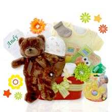 Personalized Gift Basket for Baby