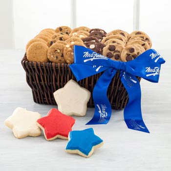 Mrs. Fields Patriotic Cookie Gift Basket