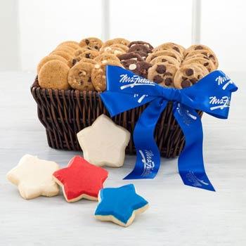 Mrs. Fields Patriotic Cookie Basket