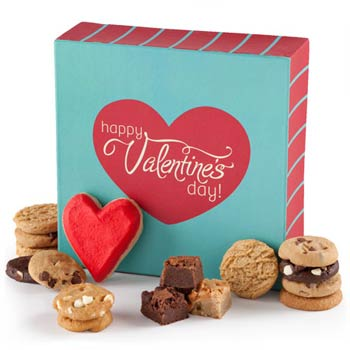 Happy Valentine's Day Cookie Gift Box - USED
