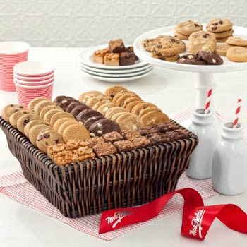 Mrs. Fields® Executive Mini Cookie Gift Basket