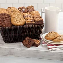 Mrs. Fields® Ultimate Cookies and Brownies Basket