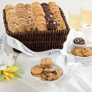 Mrs. Fields® Sympathy Mini Cookie Basket