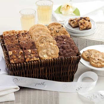 Mrs. Fields® With Sympathy Cookie Gift Basket
