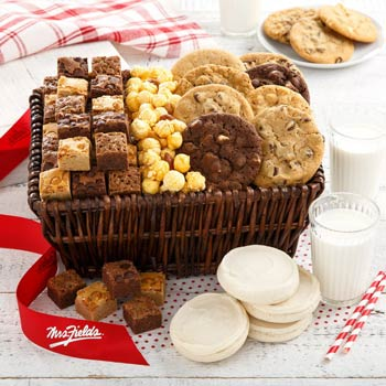 Mrs. Fields® Assorted Cookie Gift Basket