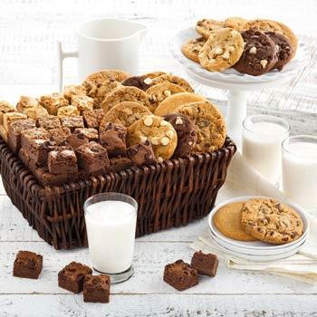 Mrs. Fields® Ultimate Cookies and Brownies Basket