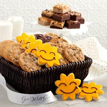 Mrs. Fields® Get Well Soon Cookie Basket