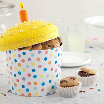 Mrs. Fields® Birthday Cake Cookie Box