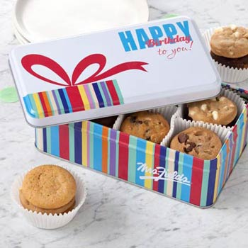 Mrs. Fields® Happy Birthday Tin