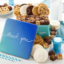 Mrs. Fields Thank You Cookie Gift Box