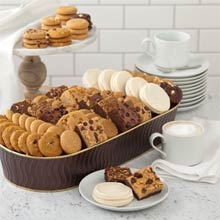Mrs. Fields® Christmas Cookie Tub