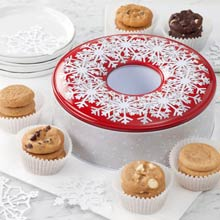 Mrs. Fields® Holiday Wreath Tin
