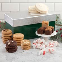 Mrs. Fields® Holiday Snack Box