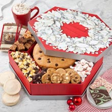 Holiday Wreath Gift Box
