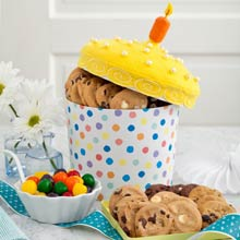 Mrs. Fields® Birthday Cake Cookie Box