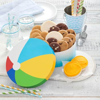 Mrs. Fields Beach Ball Gift Box